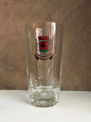 Vintage French Duval Pastis Glass