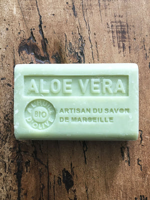 Savon de Marseille French Soap Aloe Vera
