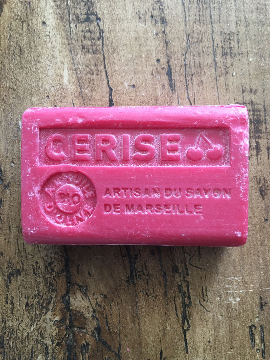 Savon de Marseille French Soap Cherry