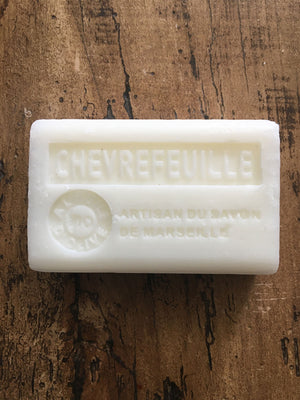 Savon de Marseille French Soap Honeysuckle