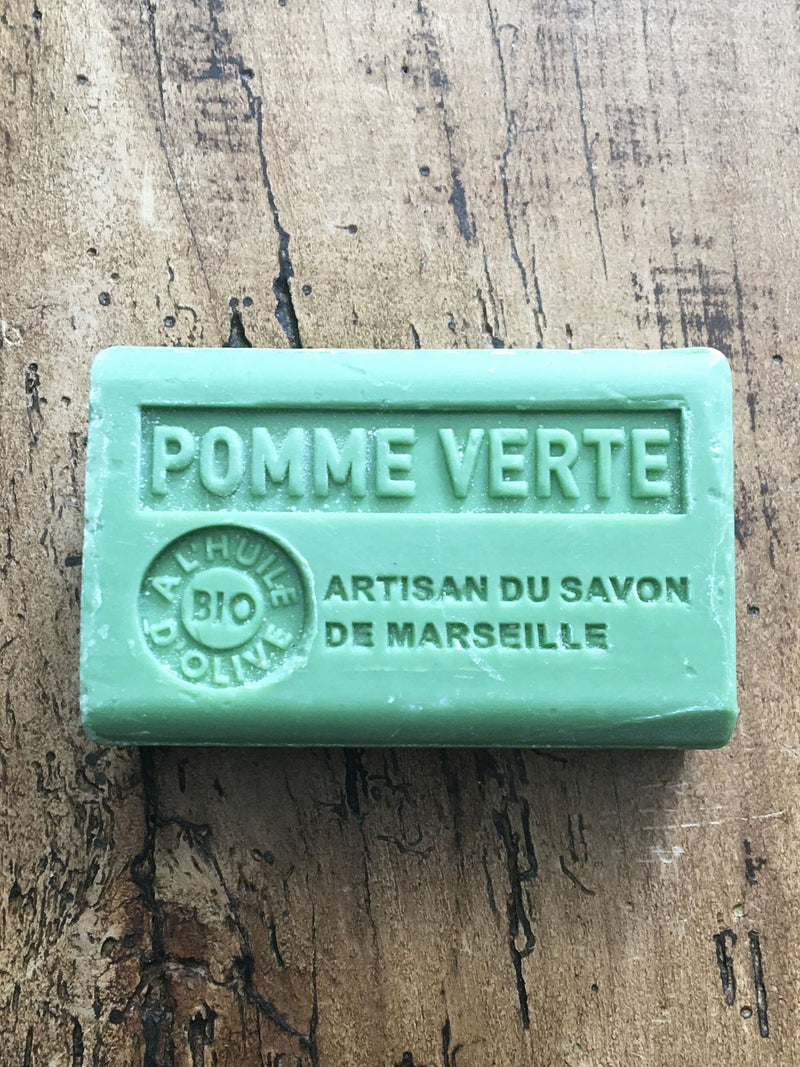 Savon de Marseille French Soap  Green Apple