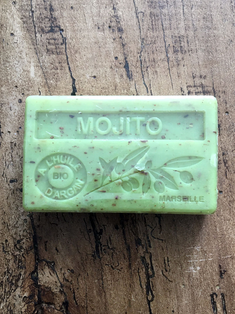 Savon de Marseille Argan Oil French Soap Mojito