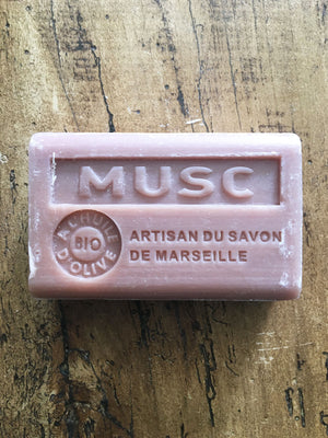 Savon de Marseille French Soap Musc