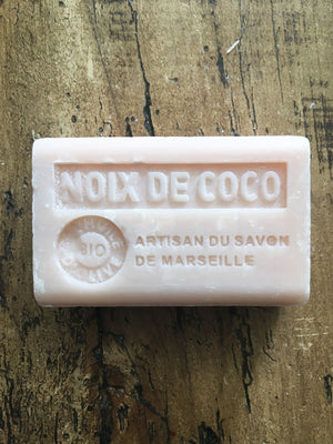Savon de Marseille French Soap Noix De Coco