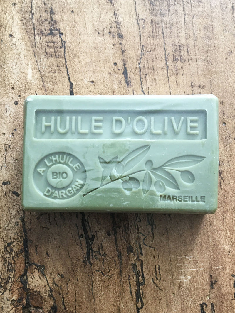 Savon de Marseille Argan Oil French Soap Olive Oil