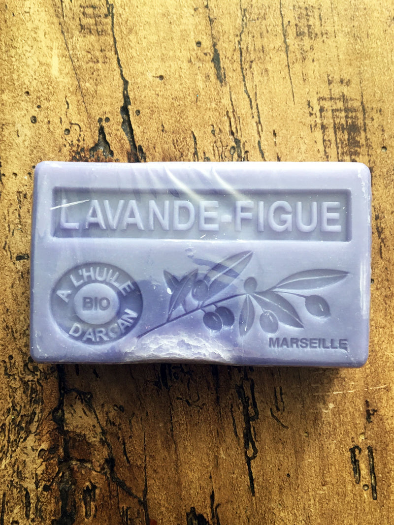 Savon de Marseille Argan Oil French Soap Lavender & Fig