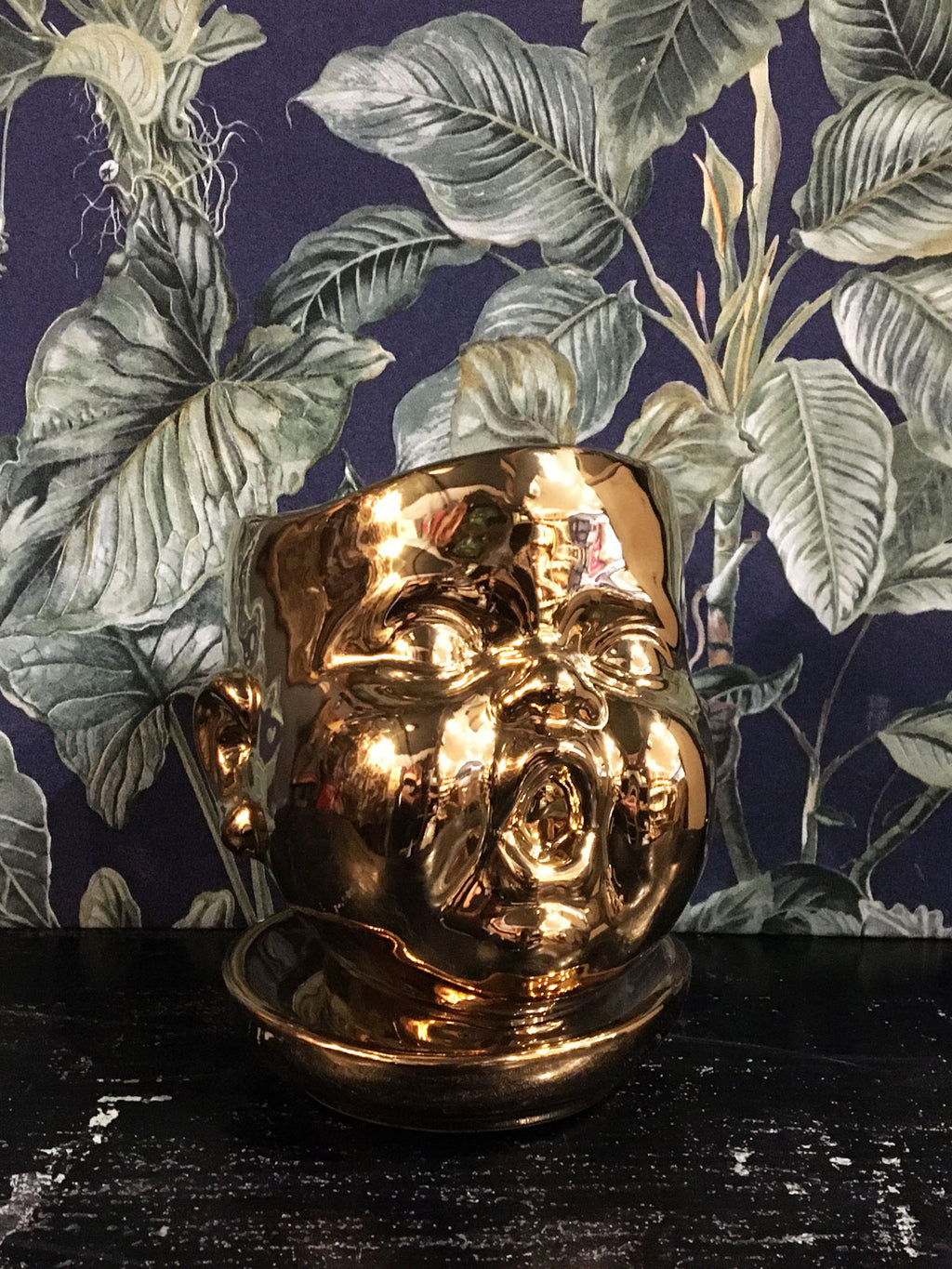 Baby Face Planter Gold