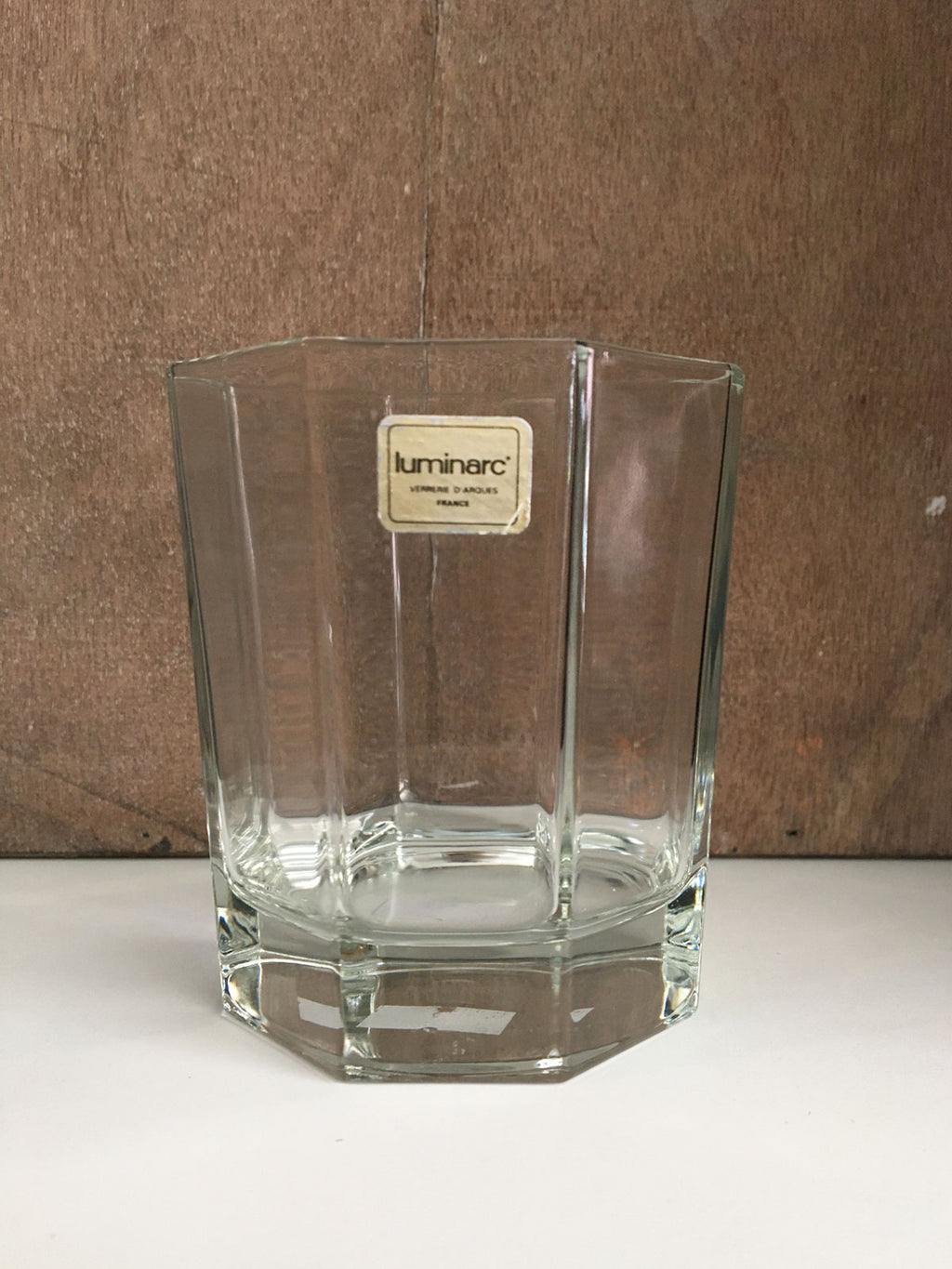 Vintage Octime Tumbler Glass