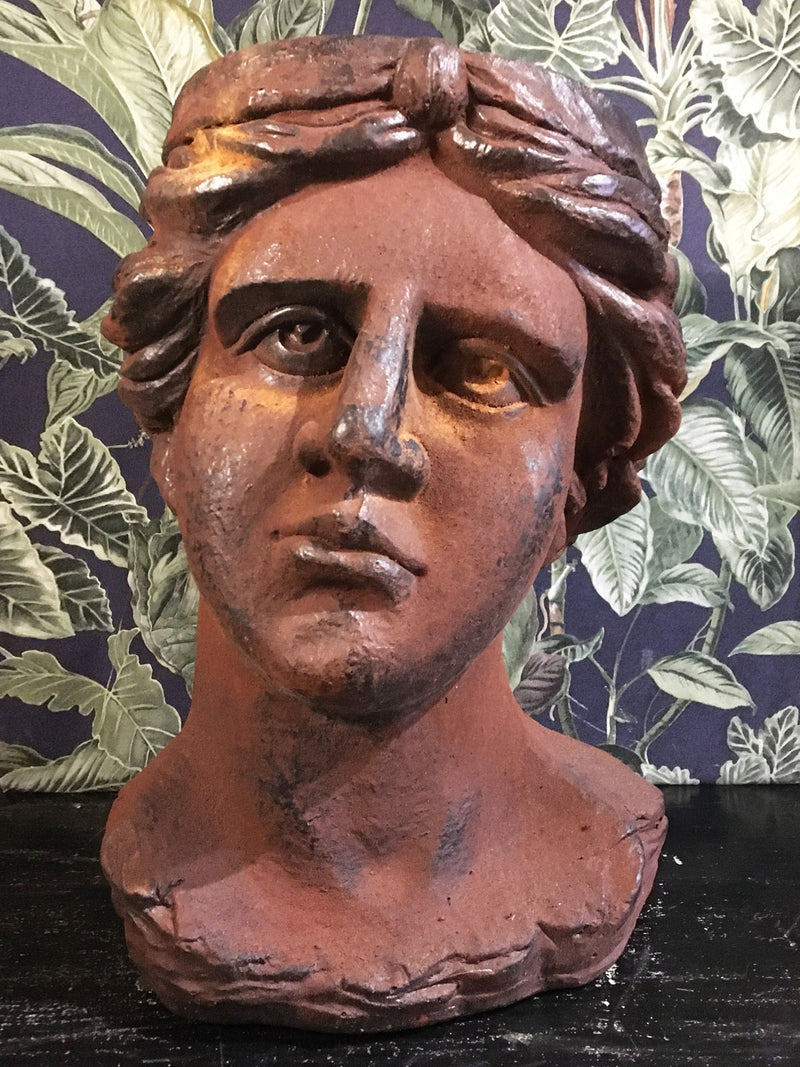 Lydia Greek Bust Planter
