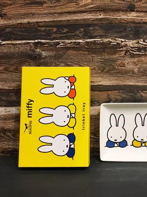 Miffy Ceramic Trinket Tray - Elbows