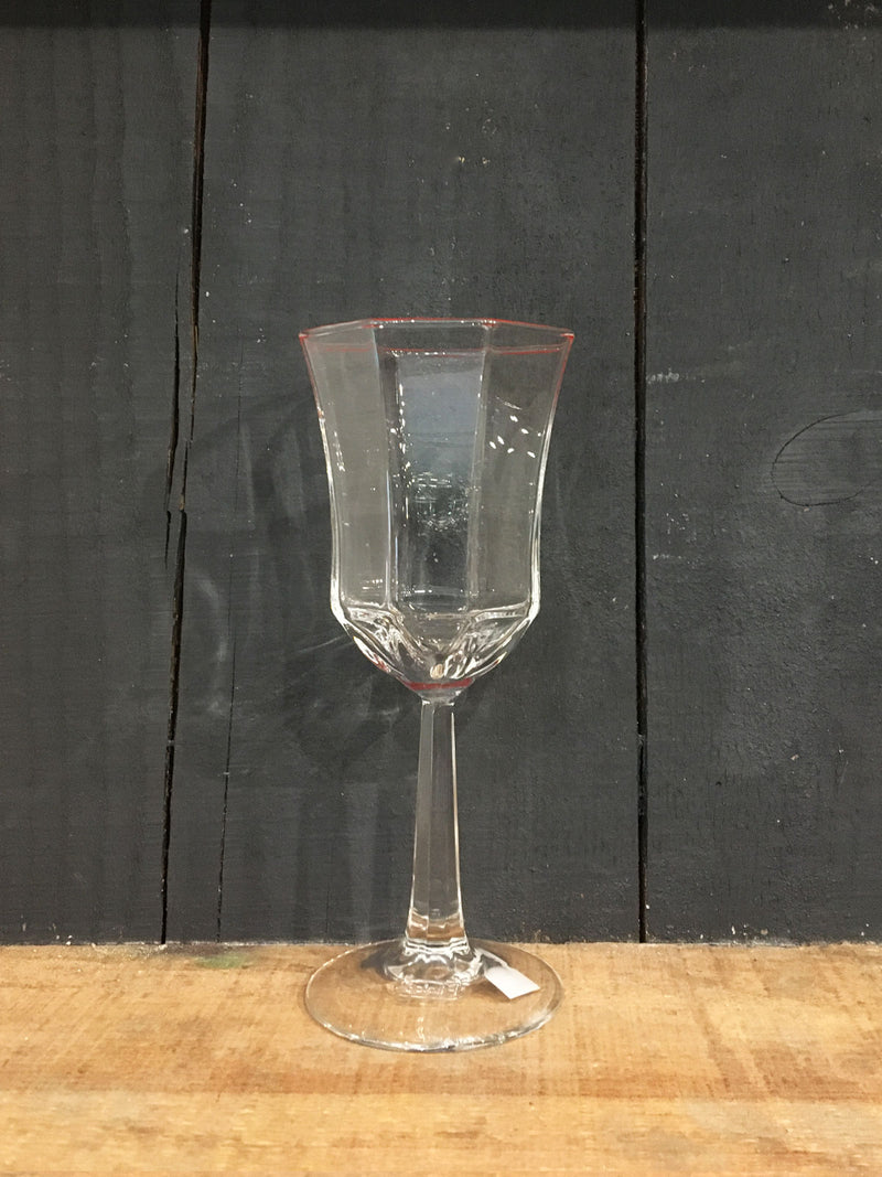 Vintage Octime Medium Wine Glass Red