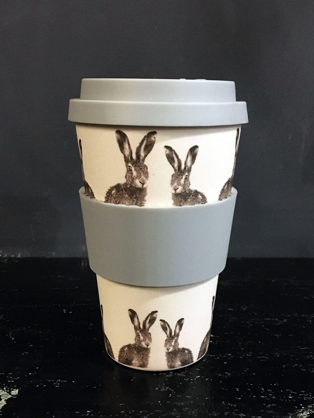 Hare Travel Mug - eco bamboo