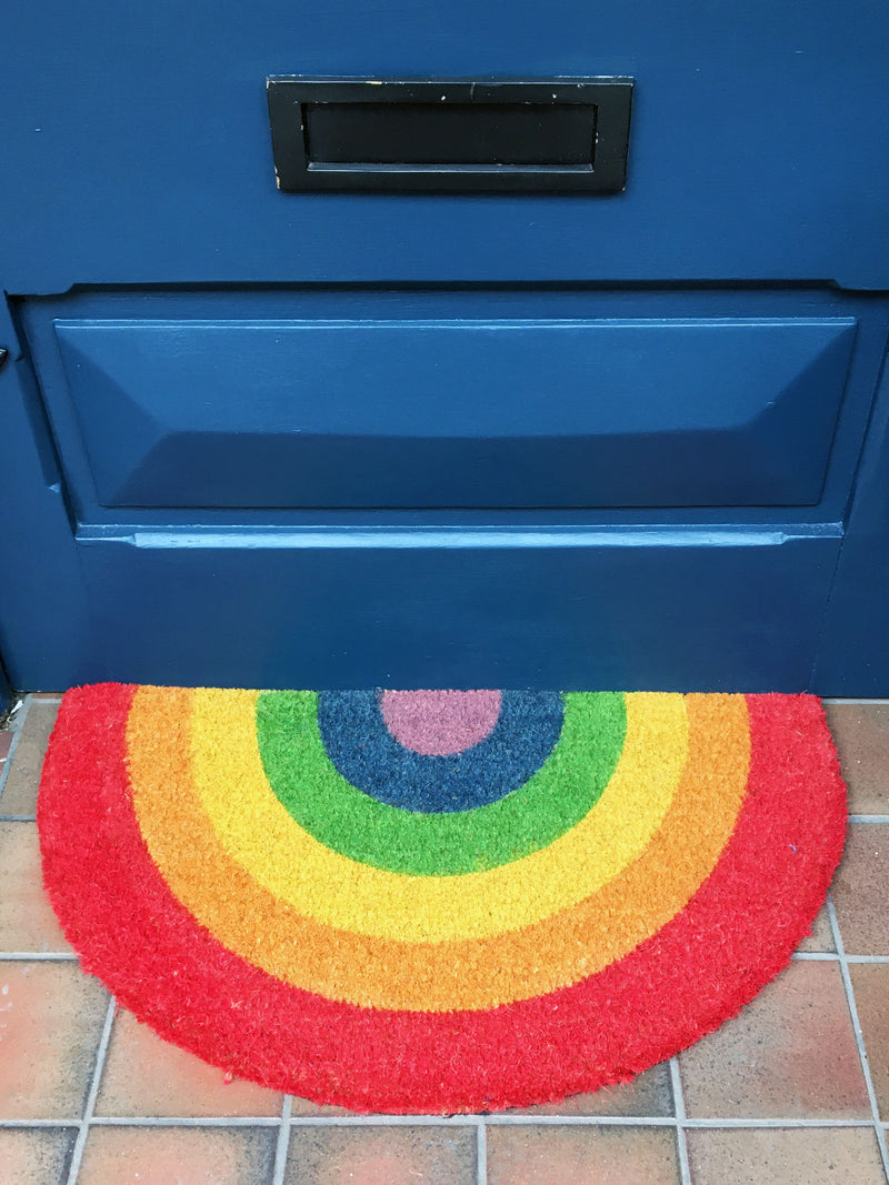 Rainbow Printed Doormat