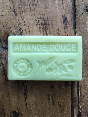 Savon de Marseille Argan Oil French Soap Amande Douce
