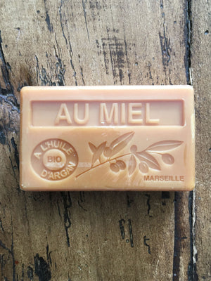 Savon de Marseille Argan Oil French Soap Au Miel