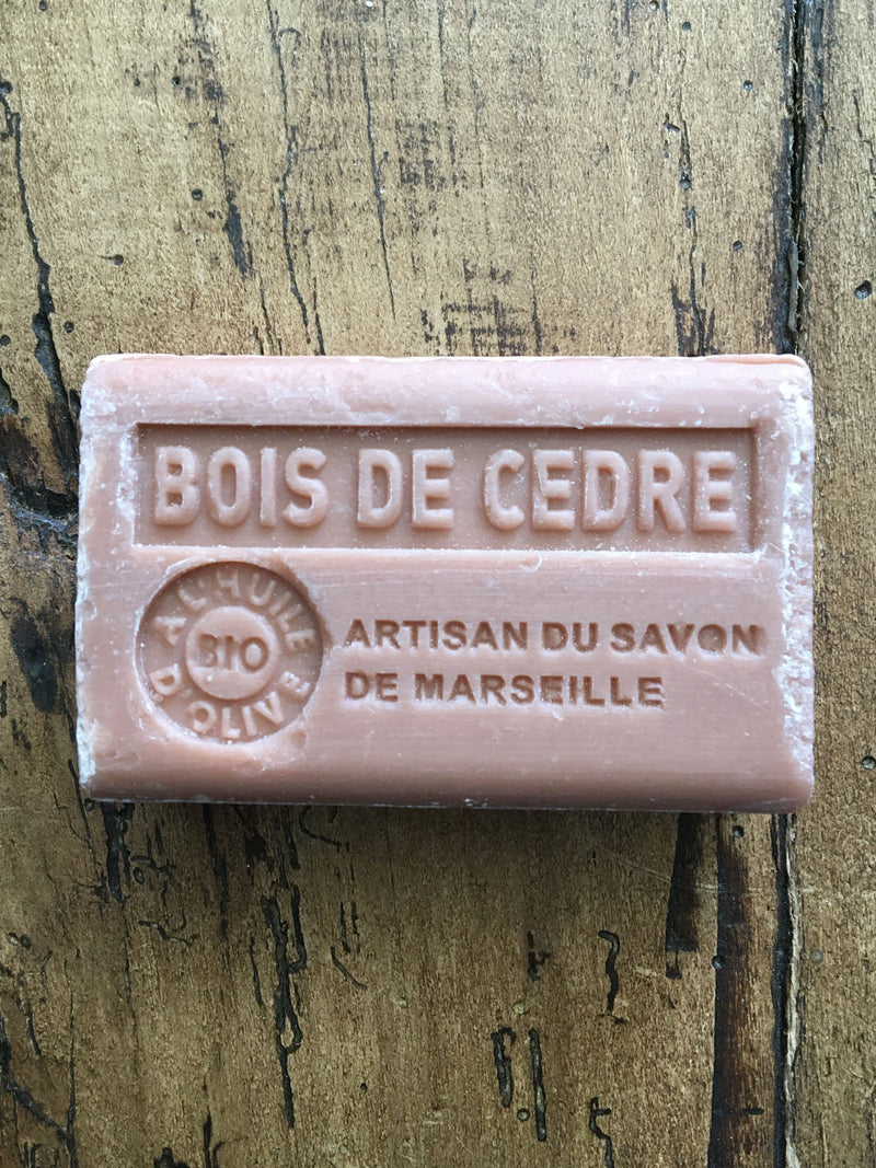 Savon de Marseille French Soap Bois De Cedre
