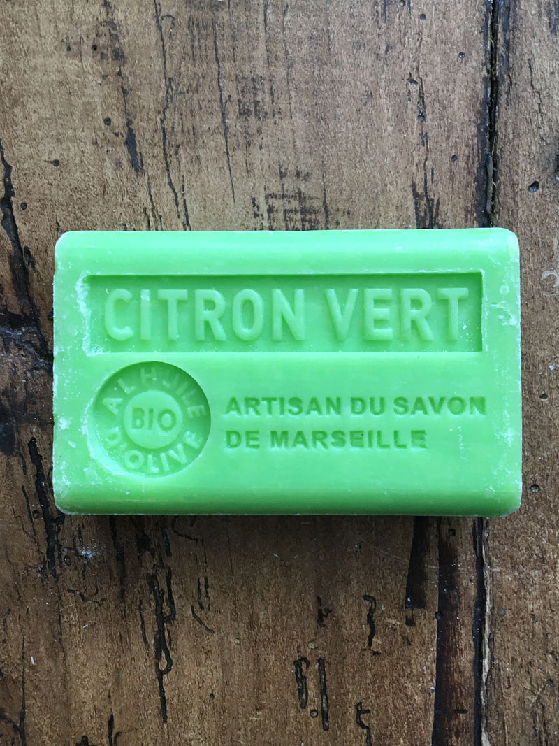 Savon de Marseille French Soap Citron Vert