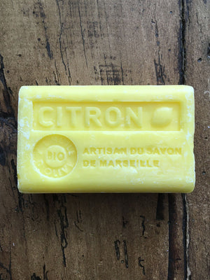 Savon de Marseille French Soap Citron