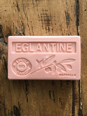 Savon de Marseille Argan Oil French Soap Eglantine