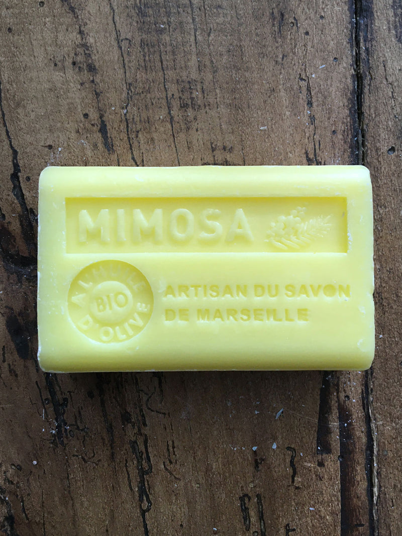 Savon de Marseille French Soap Mimosa
