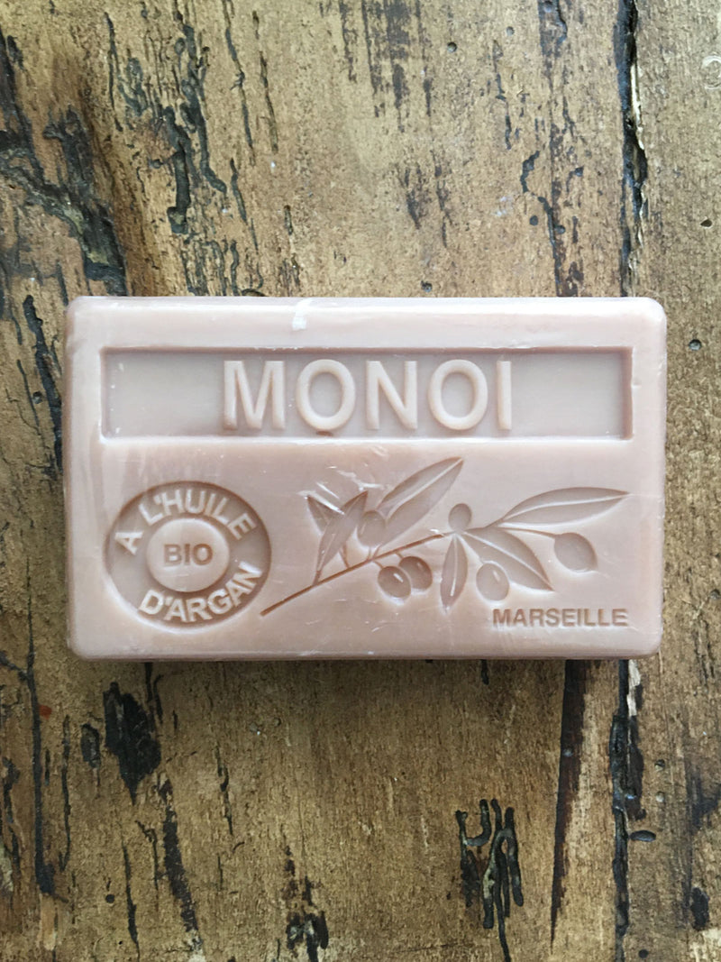 Savon de Marseille Argan Oil French Soap Monoi