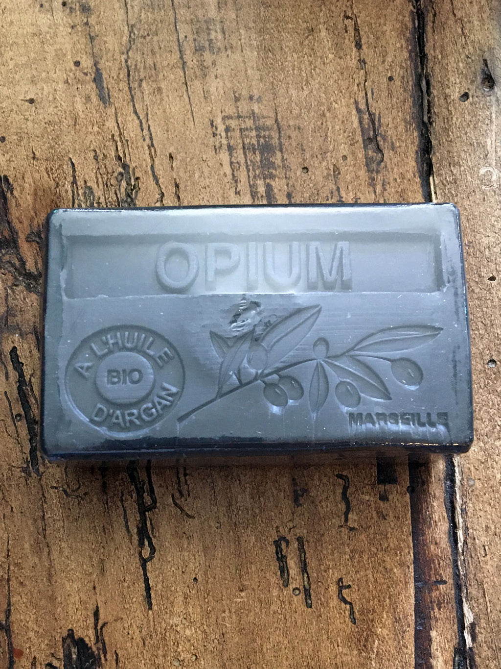 Savon de Marseille Argan Oil French Soap Opium