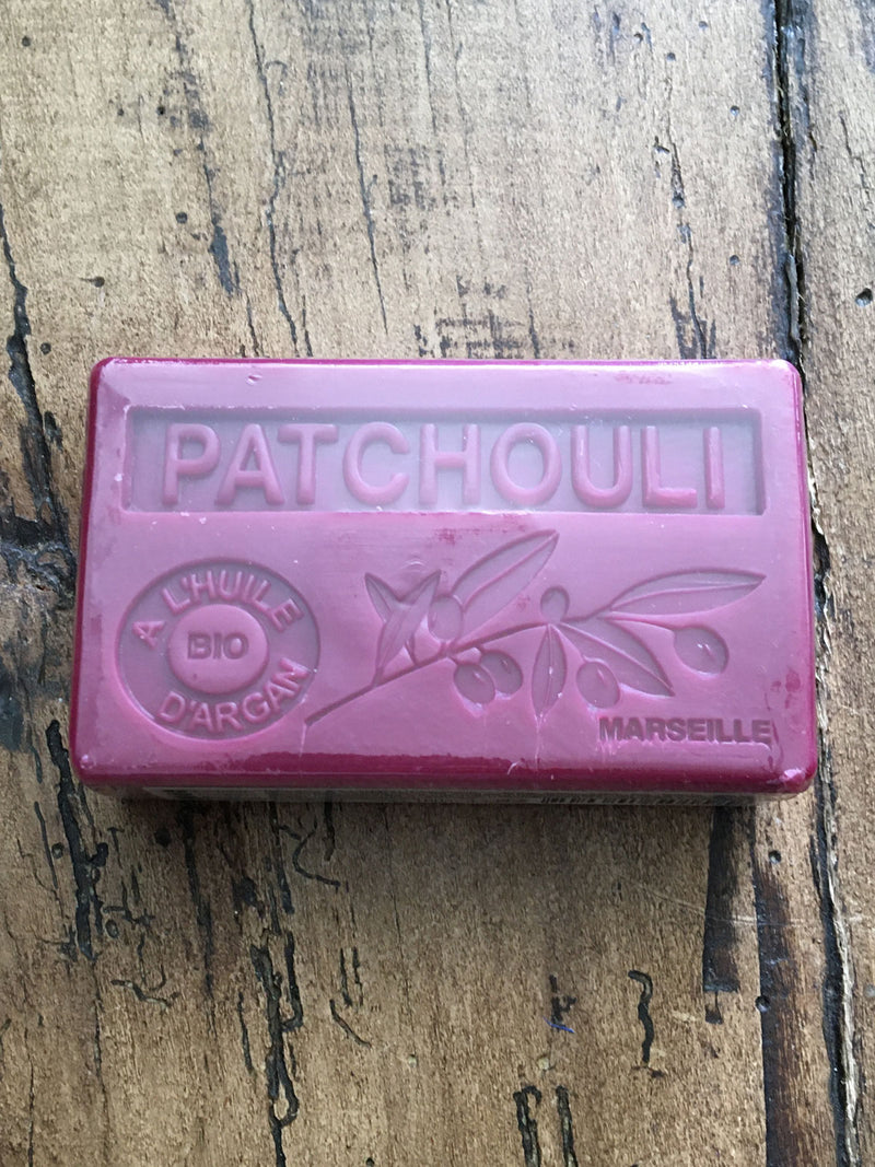 Savon de Marseille Argan Oil French Soap Patchouli