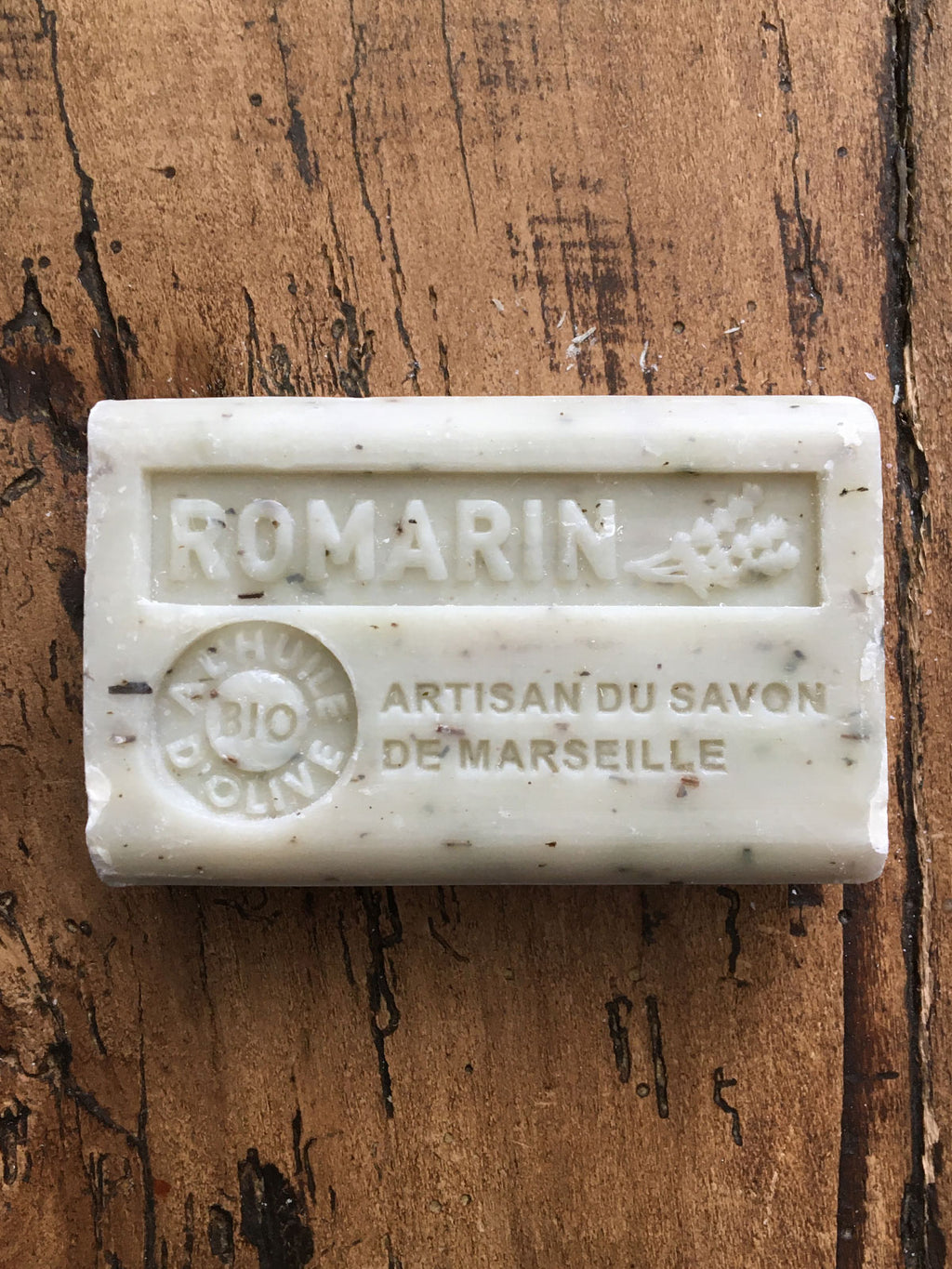 Savon de Marseille French Soap Rosemary