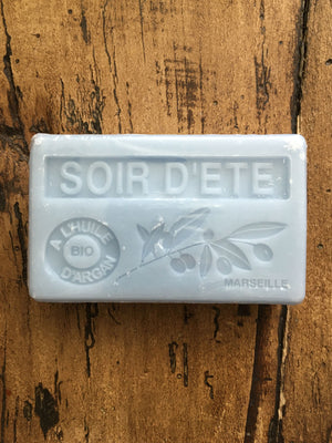 Savon de Marseille Argan Oil French Soap Soir D'ete