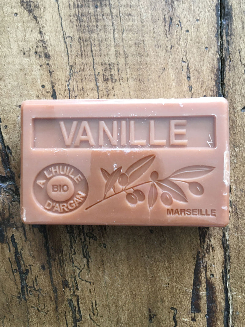 Savon de Marseille Argan Oil French Soap Vanilla