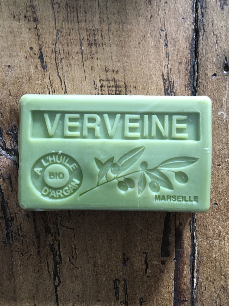 Savon de Marseille Argan Oil French Soap Verbena