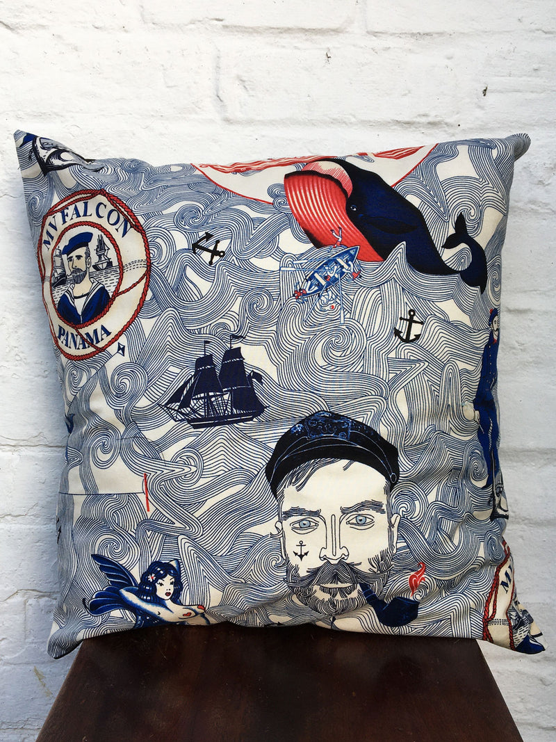 Saucy Seaman Cushion