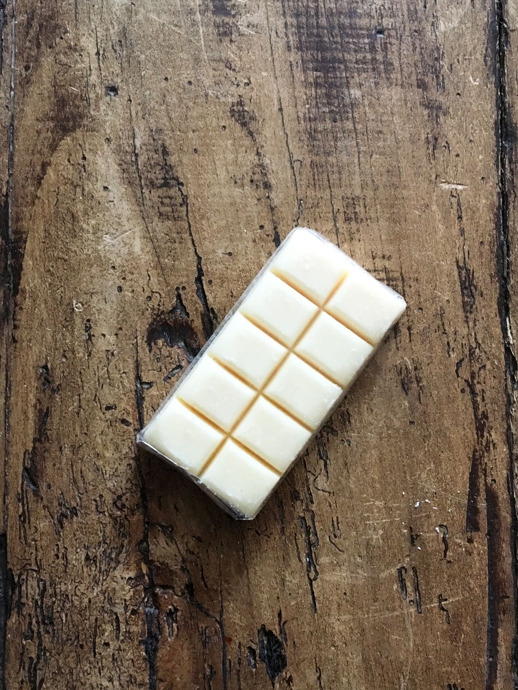 Novelty French Chocolate Bar Soap White