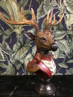 Cecil Stag Head Bust