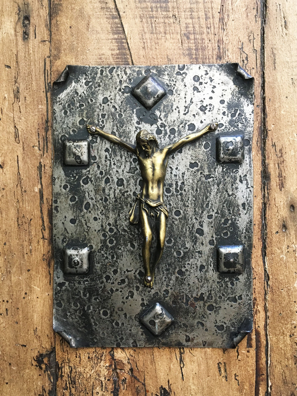 Vintage French Religiousl Plaque