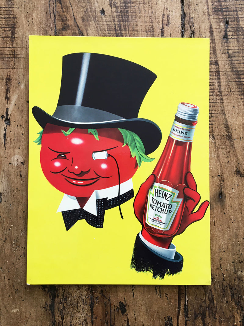Heinz Vintage French Advertising Sign - Monocle