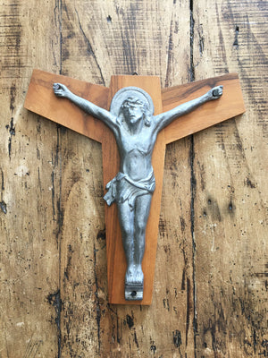 Vintage French Crucifix