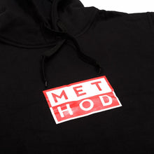 Laden Sie das Bild in den Galerie-Viewer, Method Mag Squared Hoodie black