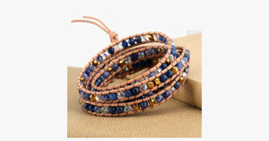 Blue Mountain Wrap Bracelet - FREE SHIP DEALS