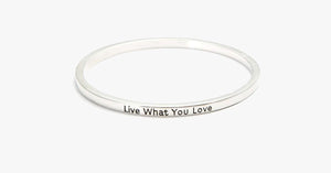 Live What You Love Bangle - FREE SHIP DEALS