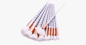 Professional 10 Piece Unicorn Brush Set - FREE SHIP DEALS