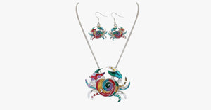 Cute Crab Hippie Pendant Set - FREE SHIP DEALS
