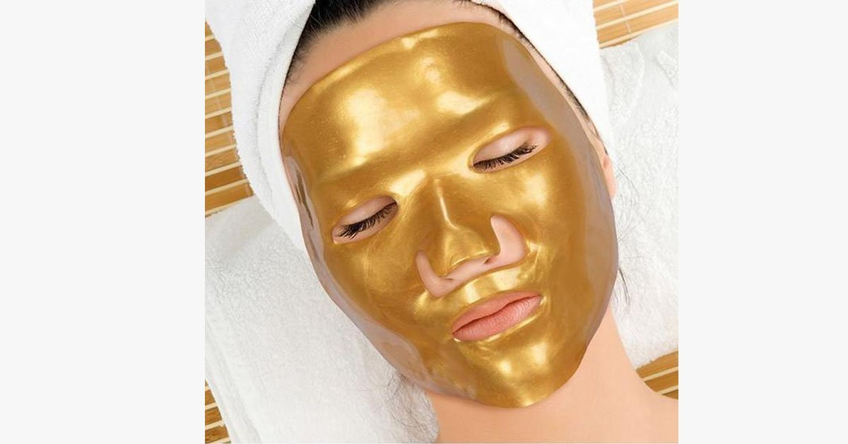 Golden Anti-Aging Luxurious Collagen Skin Care Masks - FREE SHIP DEALS