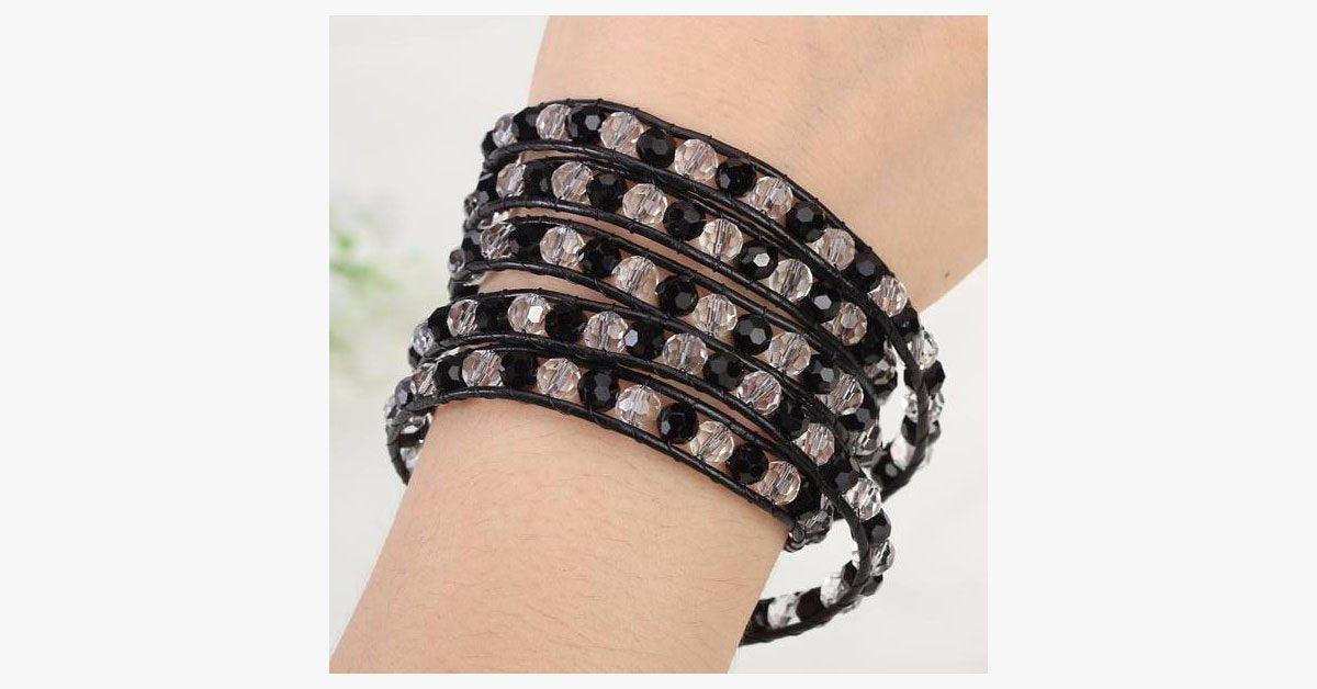 Chessboard Wrap Bracelet - FREE SHIP DEALS