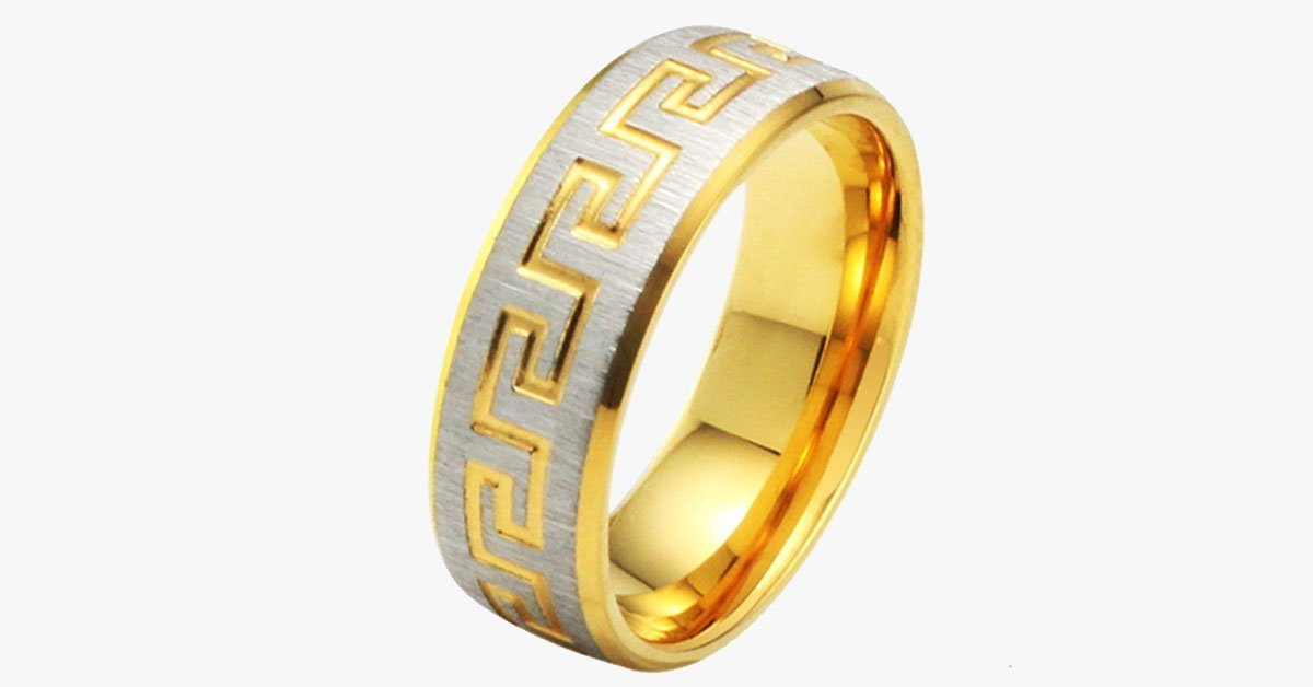 Golden Sunrise Men's Ring - FREE SHIP DEALS
