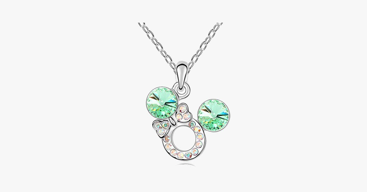 Florence Crystal Bow Necklace - FREE SHIP DEALS