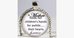 Mother-Children Pendant Necklace - FREE SHIP DEALS