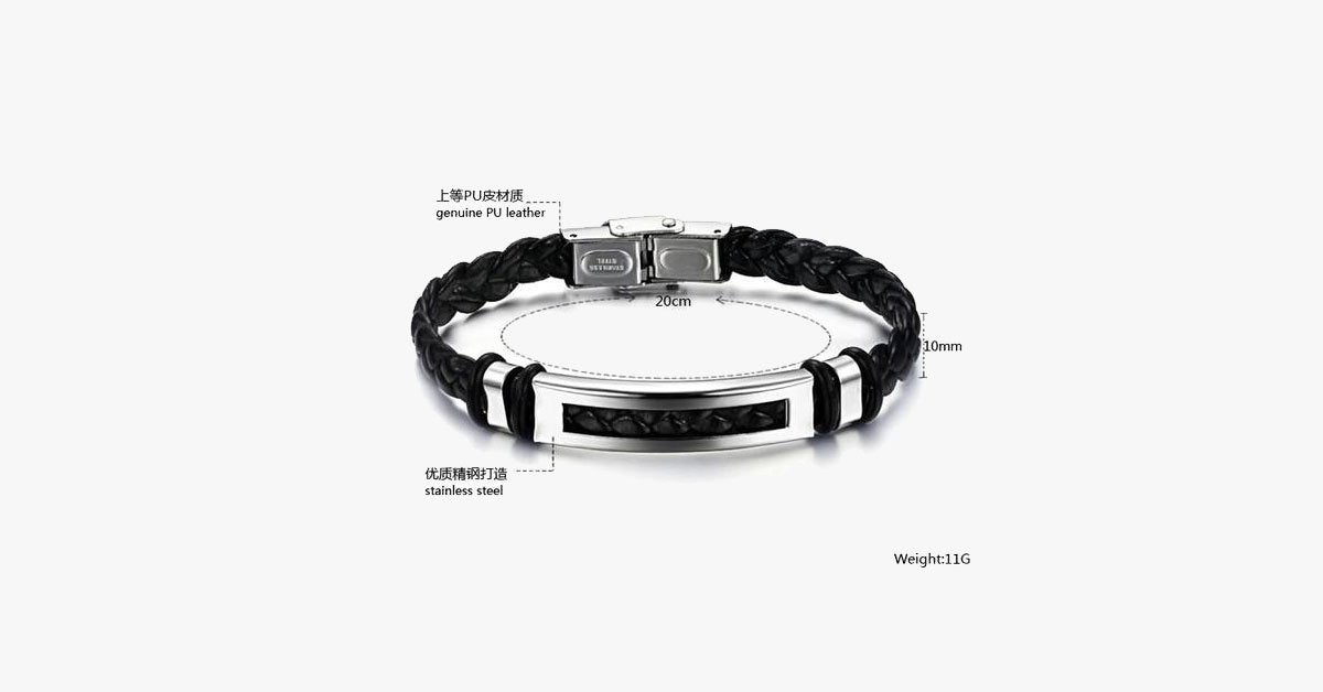 Bold Rope Stainless Steel Men's Bracelet - FREE SHIP DEALS