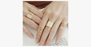 Bold Stack-able Midi Ring Set - FREE SHIP DEALS