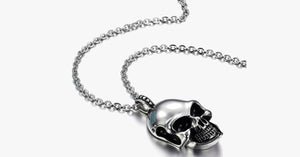 Gravity Stainless Steel Skull Pendant - FREE SHIP DEALS